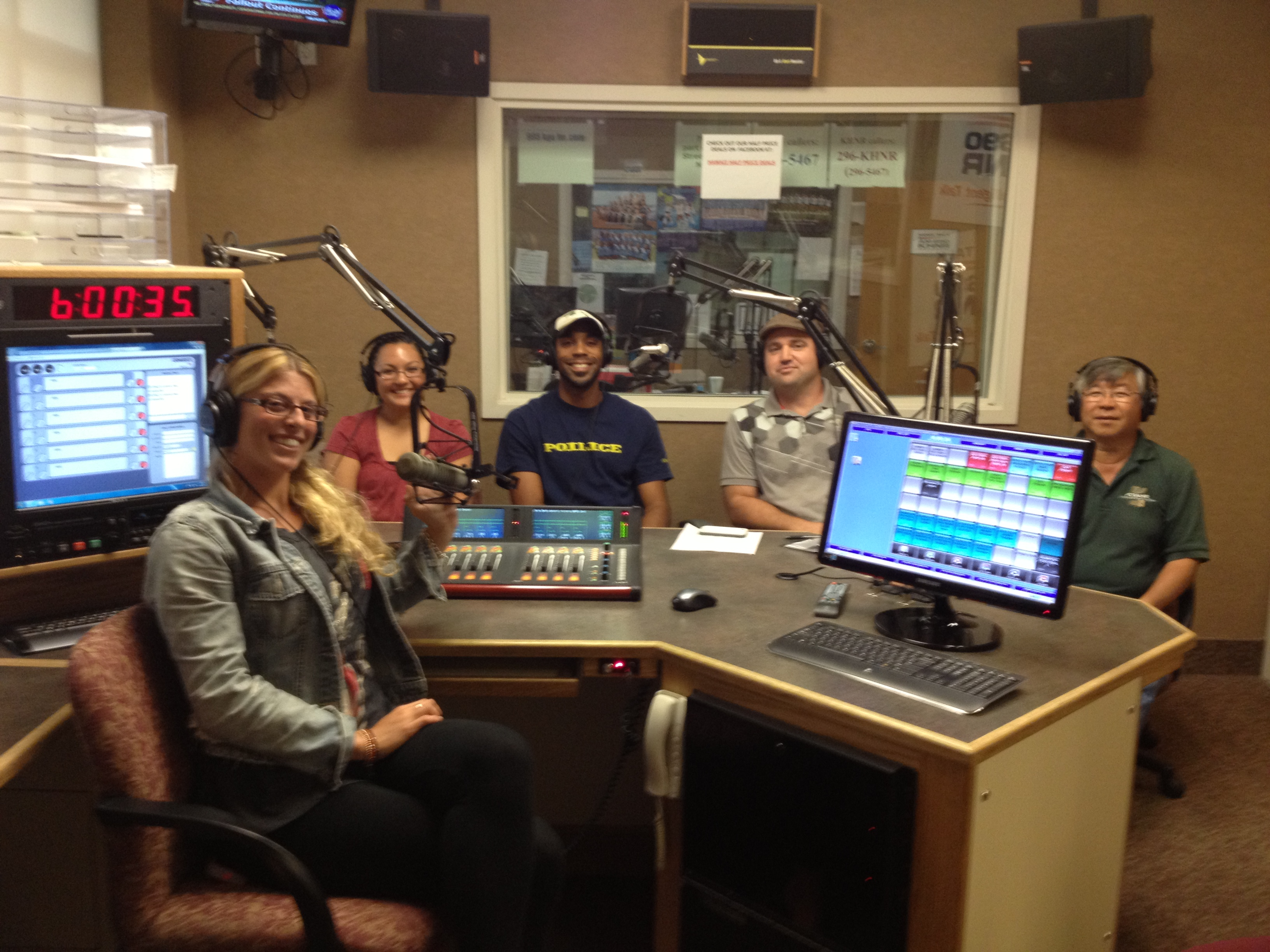 picture of radio guests